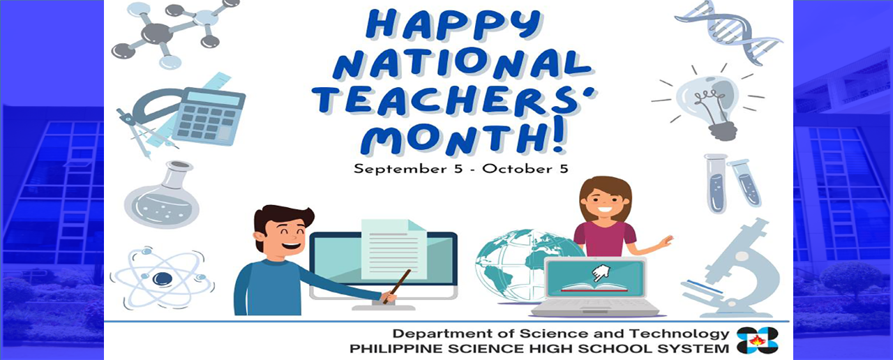 Happy National Teachers Month CY 2021